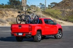 2015 Chevrolet Colorado Crew Cab in Red Hot - Static Rear Right Three-quarter View