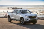 2015 Chevrolet Colorado Crew Cab in Silver Ice Metallic - Static Front Right Three-quarter View