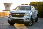 2015 Chevrolet Colorado Crew Cab in Silver Ice Metallic - Static Front Left View