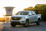 2015 Chevrolet Colorado Crew Cab in Silver Ice Metallic - Static Front Left Three-quarter View
