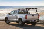 2015 Chevrolet Colorado Crew Cab in Silver Ice Metallic - Static Rear Left View