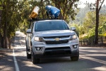 2015 Chevrolet Colorado Crew Cab in Silver Ice Metallic - Driving Frontal View