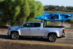 2015 Chevrolet Colorado Crew Cab in Silver Ice Metallic - Driving Side View