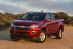 2015 Chevrolet Colorado Extended Cab in Red Rock Metallic - Static Front Left View