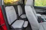 Picture of 2015 Chevrolet Colorado Extended Cab Rear Seats