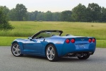 Picture of 2010 Chevrolet Corvette Convertible in Jetstream Blue Metallic Tintcoat