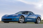2011 Chevrolet Corvette Grand Sport Coupe in Jetstream Blue Metallic Tintcoat - Static Front Left Three-quarter View