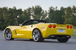 Picture of 2011 Chevrolet Corvette Grand Sport Convertible in Velocity Yellow Tintcoat