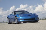 2011 Chevrolet Corvette ZR1 in Jetstream Blue Metallic Tintcoat - Static Front Right View