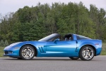 2011 Chevrolet Corvette Grand Sport Coupe in Jetstream Blue Metallic Tintcoat - Static Left Side View