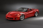 2011 Chevrolet Corvette Grand Sport Convertible in Torch Red - Static Front Left Three-quarter View