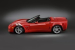 2011 Chevrolet Corvette Grand Sport Convertible in Torch Red - Static Side View