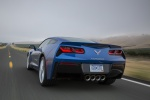 Picture of 2014 Chevrolet Corvette Stingray Coupe in Laguna Blue Tintcoat
