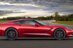 2014 Chevrolet Corvette Stingray Coupe in Crystal Red Tintcoat - Static Side View