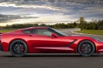2015 Chevrolet Corvette Stingray Coupe in Crystal Red Tintcoat - Static Side View