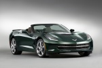 Picture of 2015 Chevrolet Corvette Stingray Convertible in Lime Rock Green Metallic