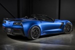 Picture of 2015 Chevrolet Corvette Z06 Convertible in Laguna Blue Tintcoat