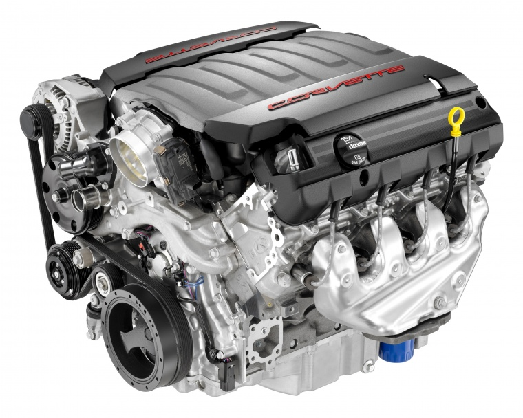 2016 Chevrolet Corvette Stingray Coupe 6.2-liter LT1 V8 Engine Picture