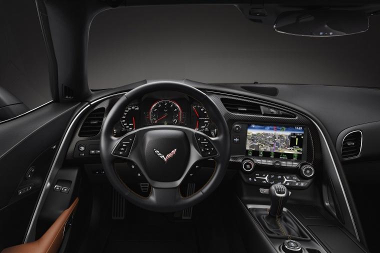 2016 Chevrolet Corvette Stingray Coupe Cockpit Picture