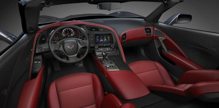 2016 Chevrolet Corvette Stingray Coupe Cockpit Picture