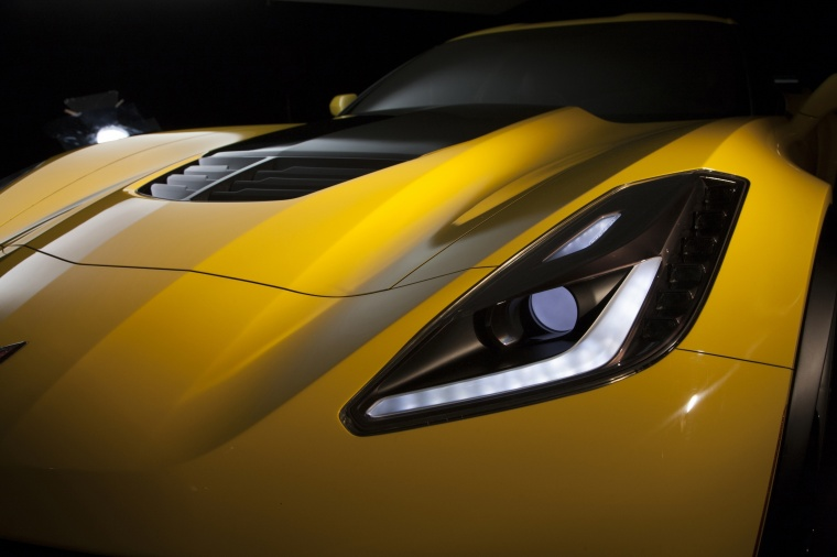 2016 Chevrolet Corvette Z06 Coupe Headlight Picture