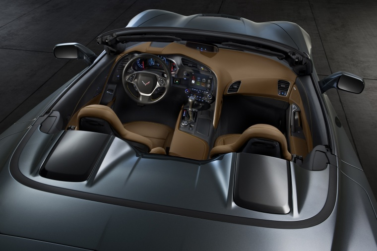 2016 Chevrolet Corvette Stingray Convertible Interior Picture