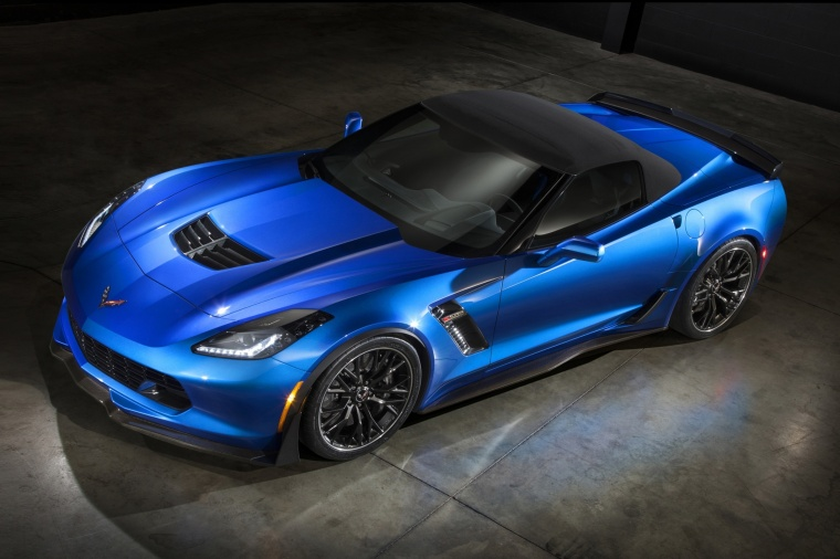 2016 Chevrolet Corvette Z06 Convertible with top closed Picture