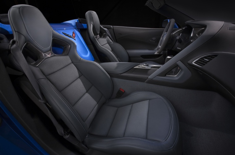 2016 Chevrolet Corvette Z06 Convertible Interior Picture