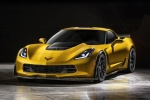 2016 Chevrolet Corvette Z06 Coupe in Corvette Racing Yellow Tintcoat - Static Front Left View