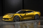 2016 Chevrolet Corvette Z06 Coupe in Corvette Racing Yellow Tintcoat - Static Front Left Three-quarter View