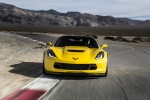2016 Chevrolet Corvette Z06 Coupe in Corvette Racing Yellow Tintcoat - Driving Frontal View