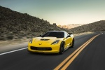 2016 Chevrolet Corvette Z06 Coupe in Corvette Racing Yellow Tintcoat - Driving Front Left View