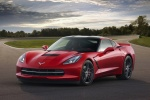 2016 Chevrolet Corvette Stingray Coupe in Torch Red - Static Front Left View