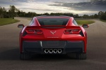 2016 Chevrolet Corvette Stingray Coupe in Torch Red - Static Rear View