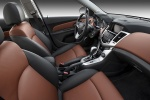 Picture of 2011 Chevrolet Cruze LTZ Front Seats