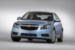 2012 Chevrolet Cruze Eco in Ice Blue Metallic - Static Front Left View