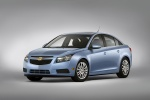 2012 Chevrolet Cruze Eco in Ice Blue Metallic - Static Front Left Three-quarter View