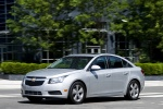 2013 Chevrolet Cruze LT in Silver Ice Metallic - Driving Front Left Three-quarter View