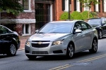2014 Chevrolet Cruze LT in Silver Ice Metallic - Driving Front Left View