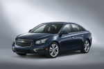 2015 Chevrolet Cruze LTZ in Blue Ray Metallic - Static Front Left Three-quarter View