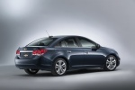 2015 Chevrolet Cruze LTZ in Blue Ray Metallic - Static Rear Right Three-quarter View