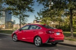 2017 Chevrolet Cruze Premier RS Sedan in Red Hot - Static Rear Left Three-quarter View