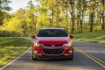2017 Chevrolet Cruze Premier RS Sedan in Red Hot - Driving Frontal View