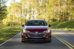 2018 Chevrolet Cruze Premier Sedan in Cajun Red Tintcoat - Driving Frontal View