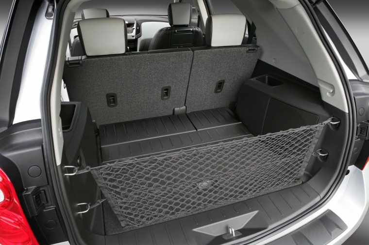 2011 Chevrolet Equinox LTZ Trunk Picture