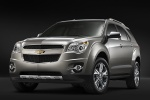 2011 Chevrolet Equinox in Silver Ice Metallic - Static Front Left View