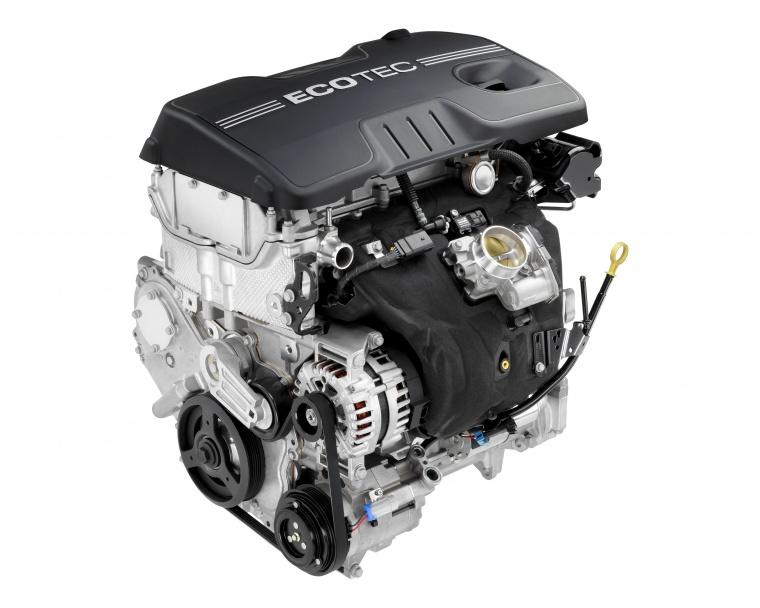 2014 Chevrolet Equinox 2.4-liter 4-cylinder Engine Picture