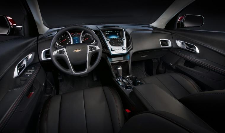 2017 Chevrolet Equinox Cockpit Picture