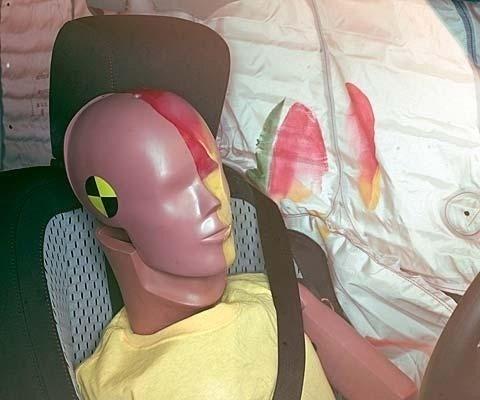 2017 Chevrolet Equinox IIHS Side Impact Crash Test Picture