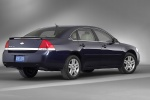 2010 Chevrolet Impala LTZ in Imperial Blue Metallic - Static Rear Right Three-quarter View